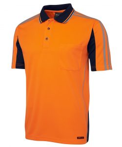 6AT4S-jbs-hi-vis-polo-arm-tape-orange-navy-profile