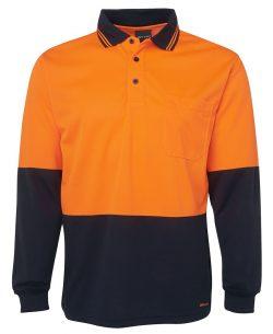 Hi-Vis Traditional Polo