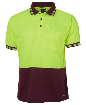 Hi-Vis Traditional Polo