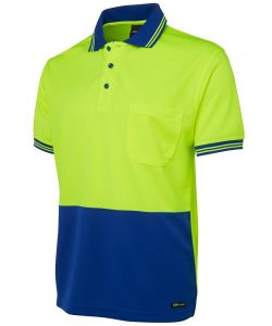 6HVPS-lime-royal-short-sleeve-hi-vis-polo-profile
