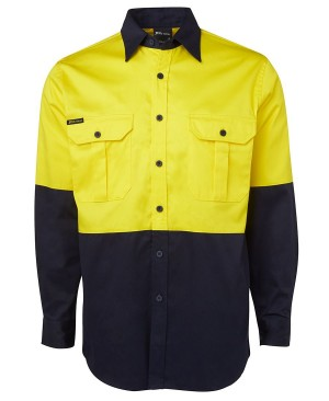 Hi-Vis Drill Work Shirt