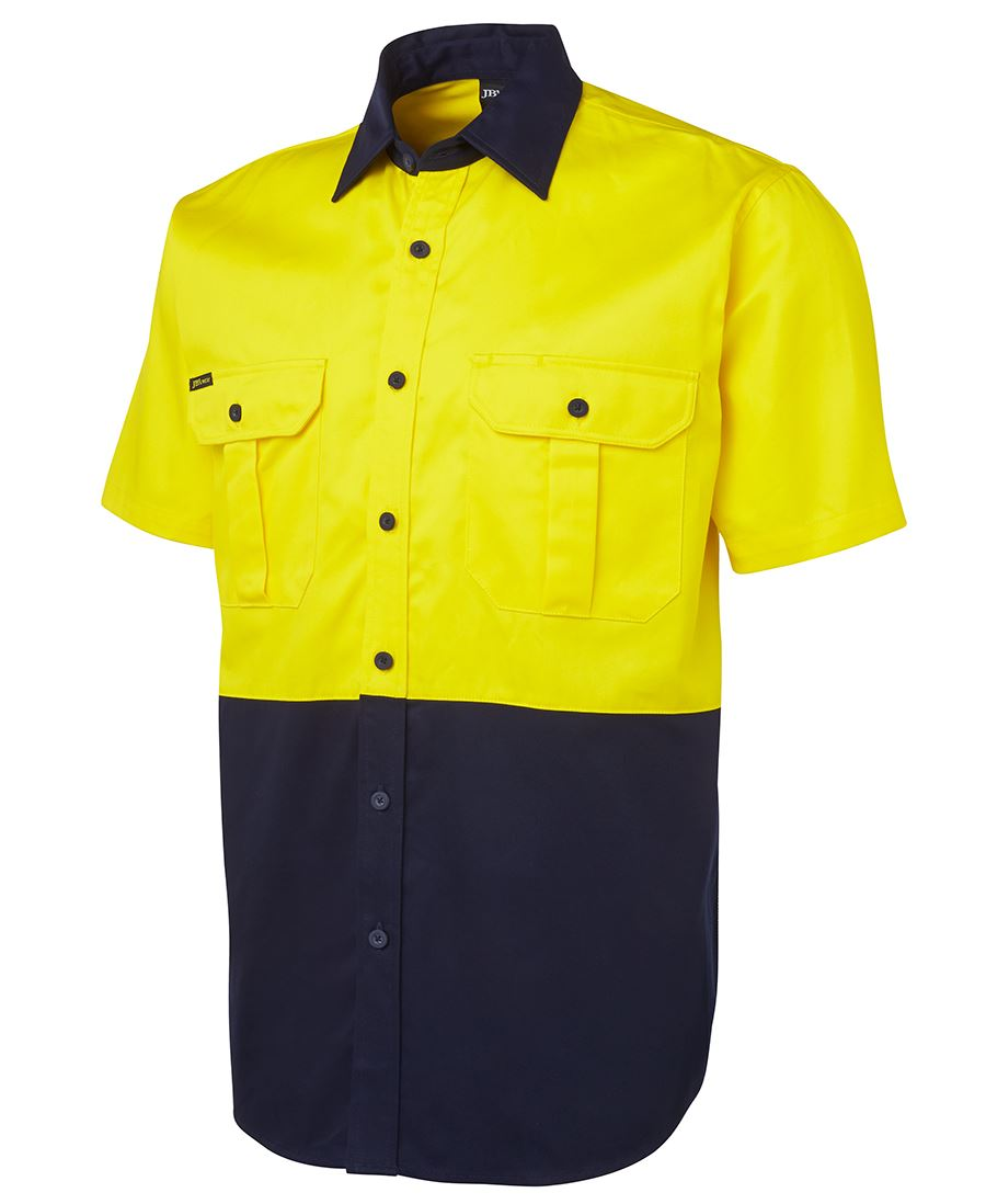 Jb 39 s wear hi vis drill shirt for Hi vis t shirt printing