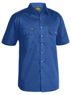 Bisley Lightweight Cotton Drill Shirt