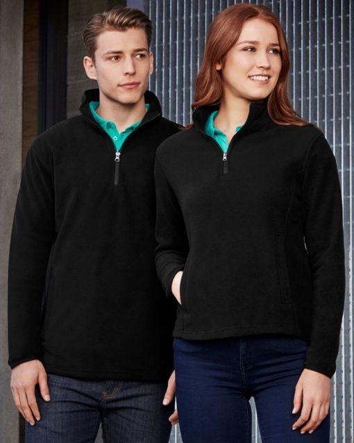 Biz Collection Trinity Half Zip Pullover