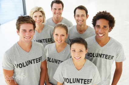 Portrait Of Volunteer Group