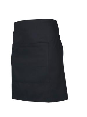Black Short Apron