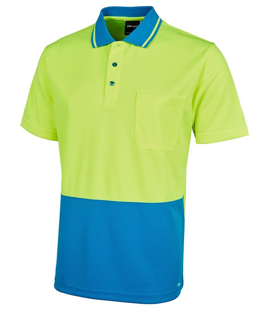 Classic hi vis polo for Polo work shirts with company logo