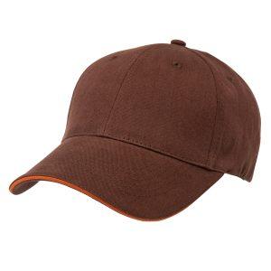 Premium Soft Cotton Sandwich Peak Cap