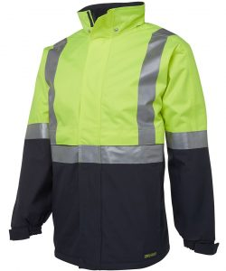 6DATJ-JBs-Hi-Vis-AT-Day-Night-Jacket-Lime-Navy-profile-view