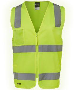 Hi-Vis (D+N) Zip Front Safety Vest