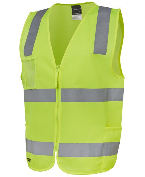 Hi-Vis (D+N) Zip Front Safety Vest