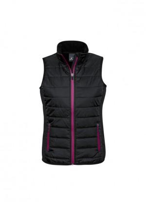 Stealth-Tech Hybrid Puffer Vest