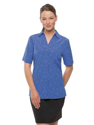 City Collection Drift Print Blouse