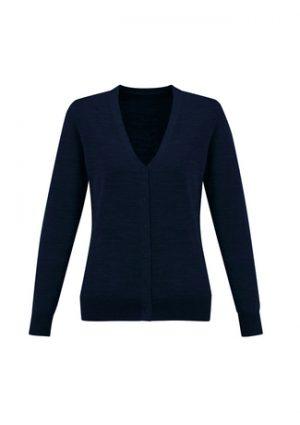 Ladies Roma Wool Blend Cardigan
