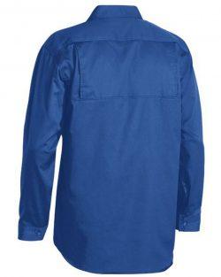 Bisley Lightweight Cotton Drill LS Shirt
